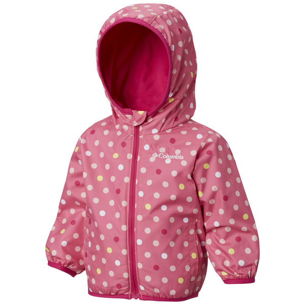 Columbia Wild Geranium Print Infant Mini Pixel Grabber™ II Wind Jacket