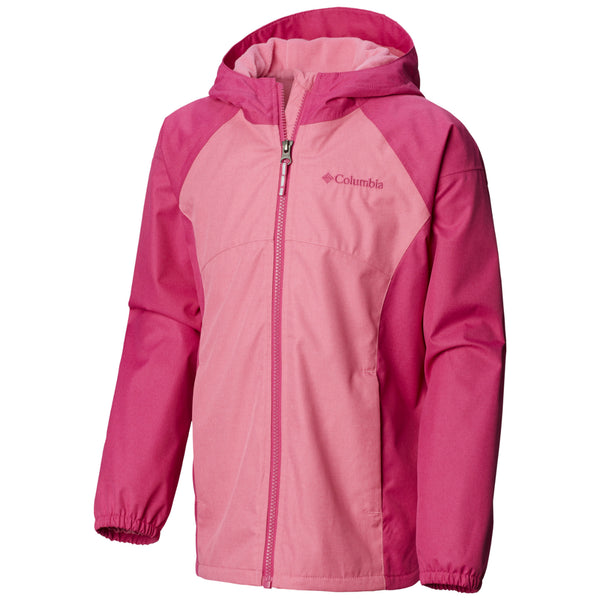 Columbia Wild Geranium Heather Endless Explorer™ Toddler Jacket