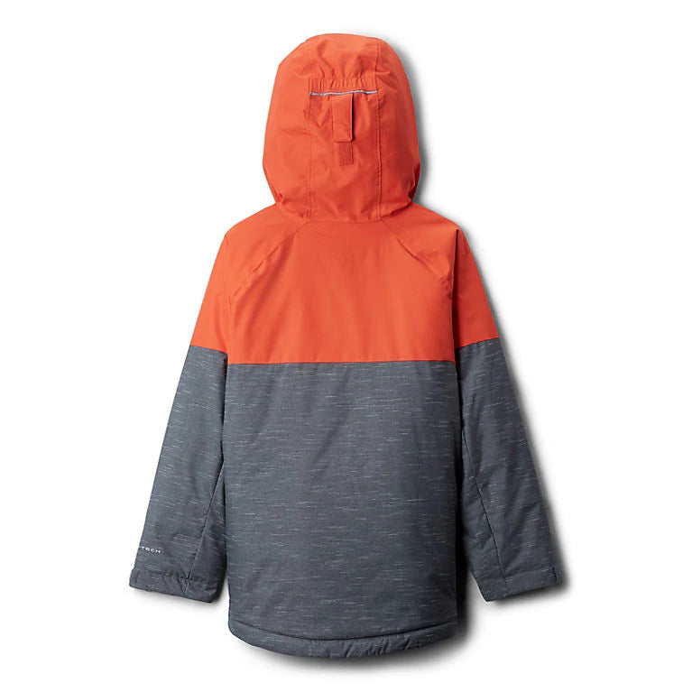 Columbia Grill Heather/State Orange Alpine Action II Jacket