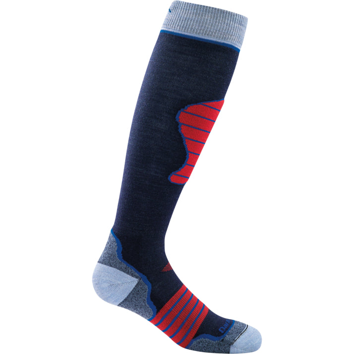 Darn Tough Navy Padded Over-The-Calf Cushion Sock