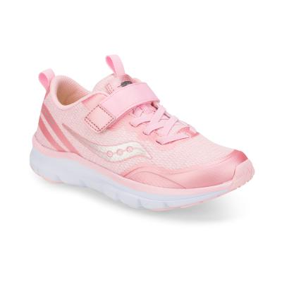 Saucony Pink Sparkle Liteform Feel A/C Children's Sneaker