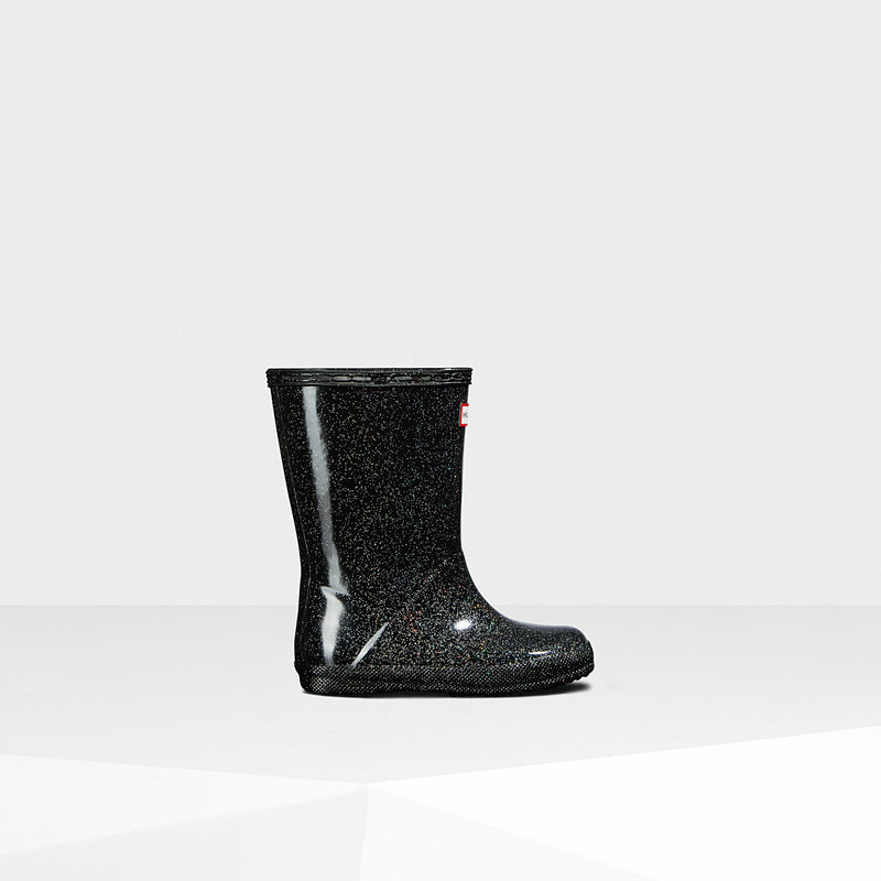 Hunter Black Multi Original Kids First Starcloud Rainboot