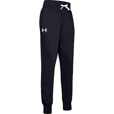 Under Armour Black/White Rival Joggers