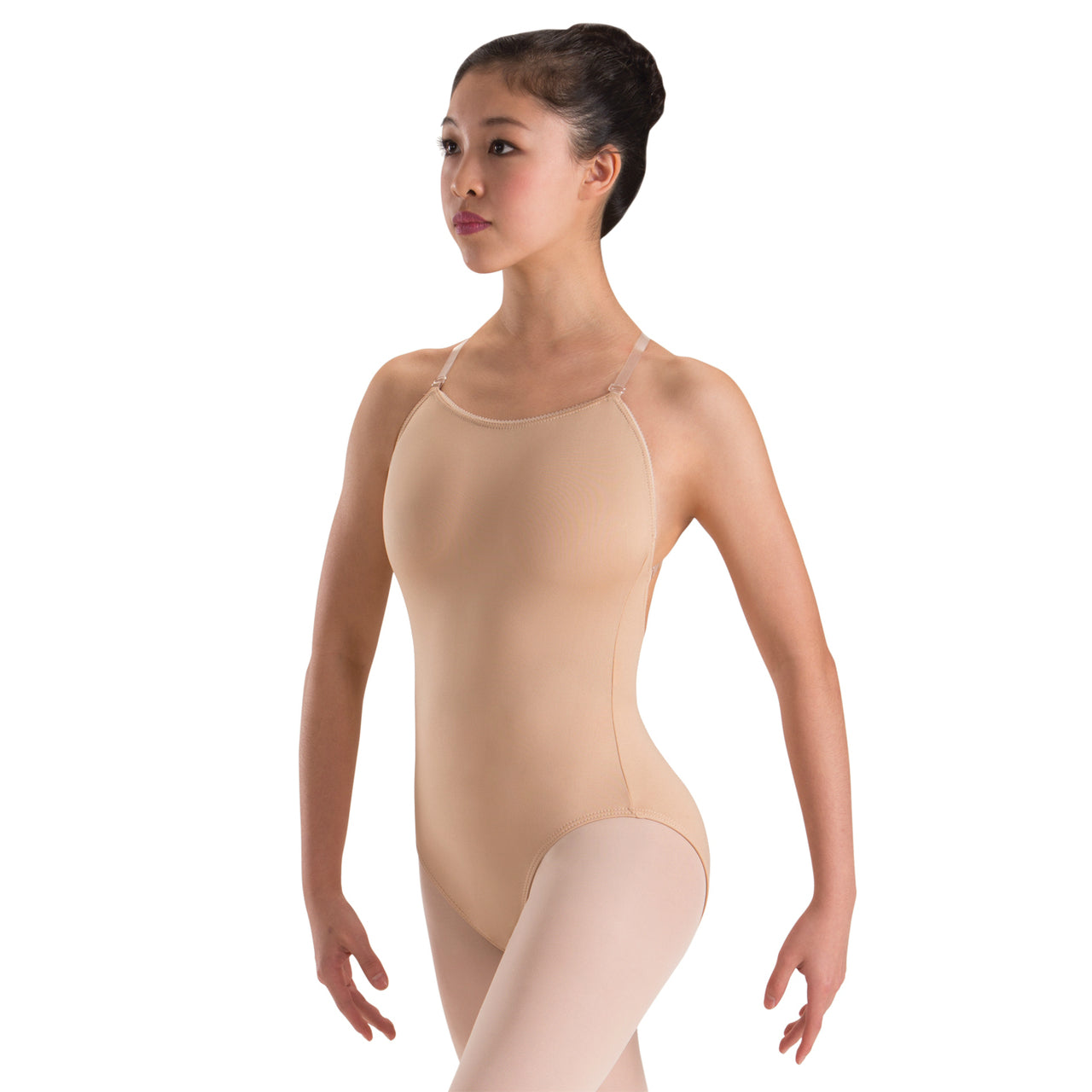 Motionwear Nude UnderWears Adjustable Strap Camisole Leotard