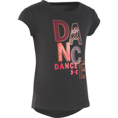 Under Armour Toddler Black Dance Dance S/S Tee