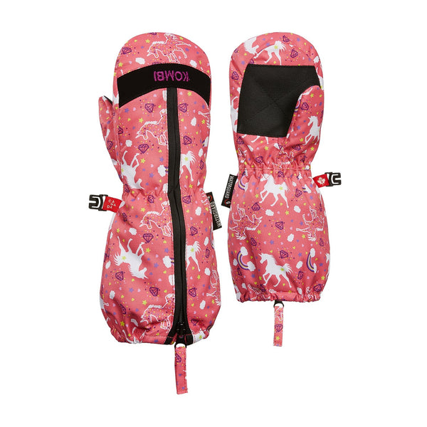 Kombi Pink Unicorn Snow Day Children's Mitt