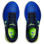 Under Armour Team Royal/Academy/Hyper Green Charged Bandit 4 Sneaker
