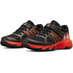 Under Armour Black/Radio Red/Metallic Silver X Level Prospect A/C Sneaker