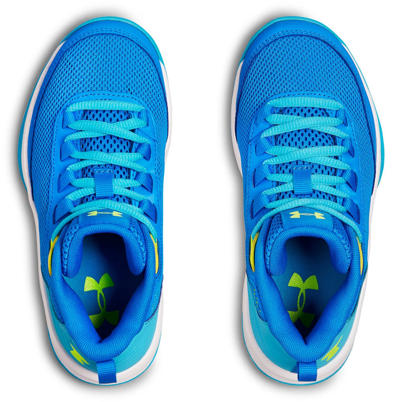 Under Armour Blue Circuit/Alpine/High-Vis Yellow Jet Sneaker