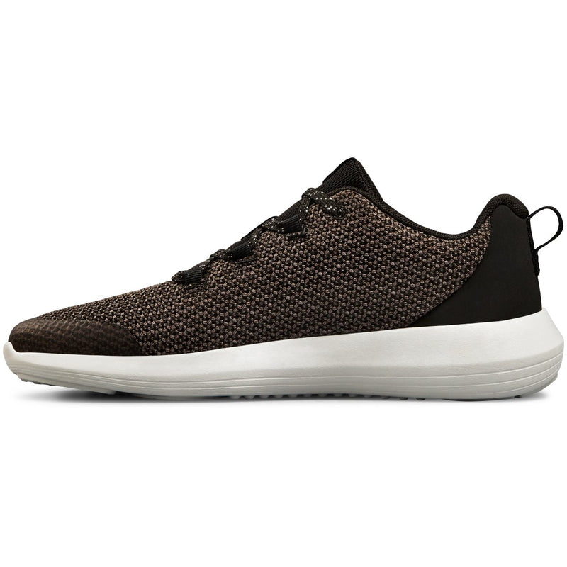 Under Armour Black/Elemental/Metallic Gun Metal Ripple Sneaker