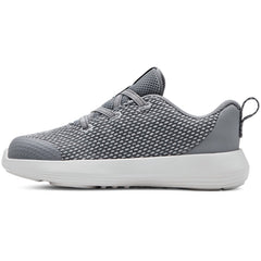 Under Armour Steel/Summit White Ripple Infant Sneaker