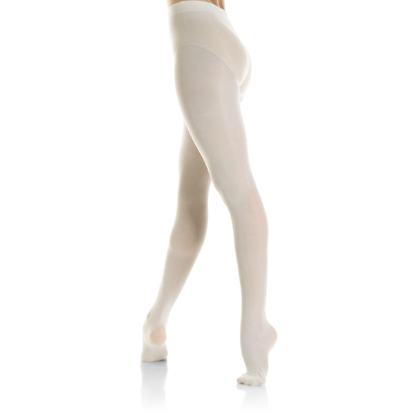Mondor Adult Ballerina Pink Performance Footed Tights