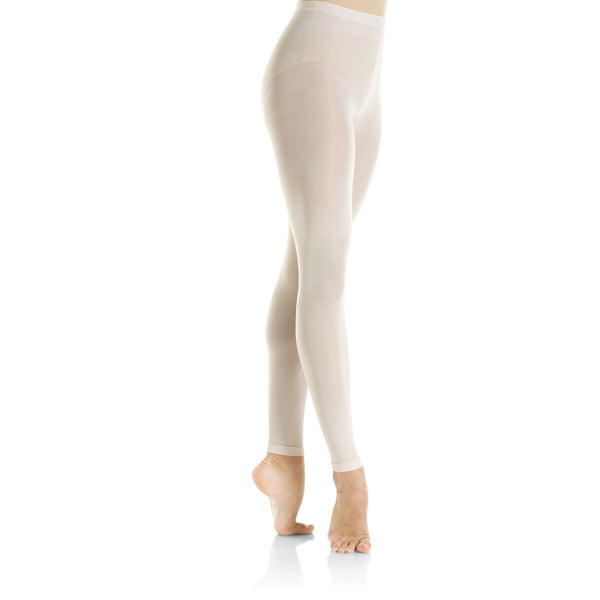 Mondor Ballerina Pink Performance Footless Tights