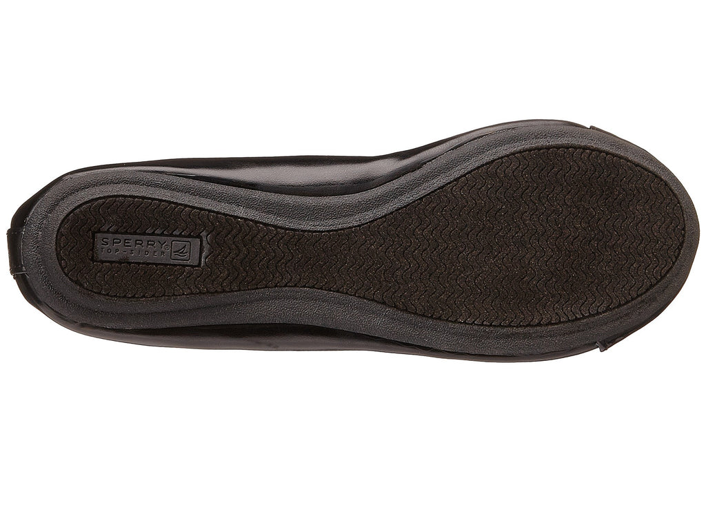 Sperry Black Elise Youth Flat