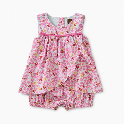961f7b3bd68d87 Tea Collection Ditsy Pleated Baby Dress