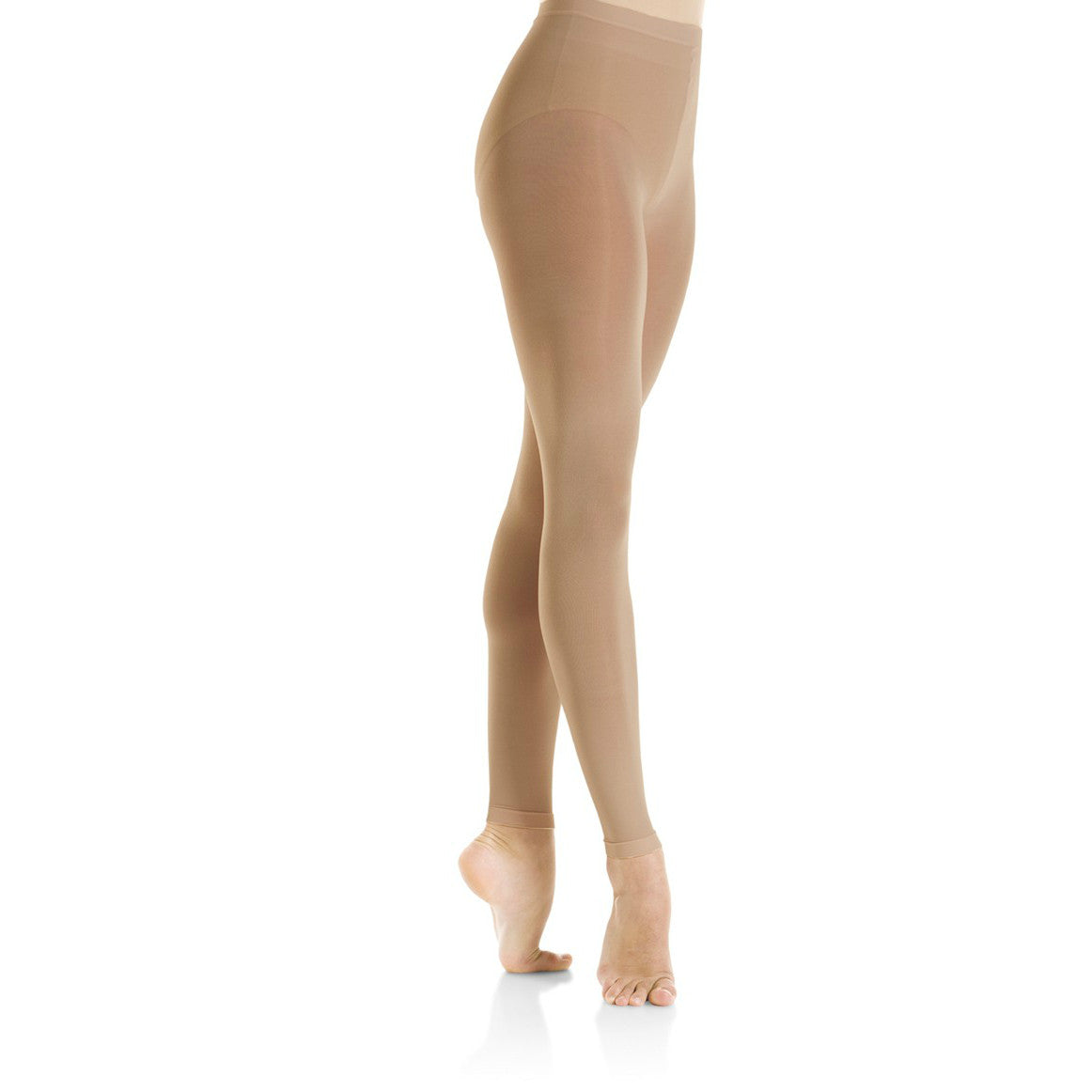 Mondor Adult Suntan Footless Performance Tights