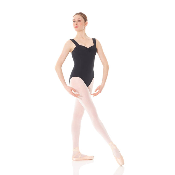 Mondor Adult Black Matrix Wide Strap Leotard