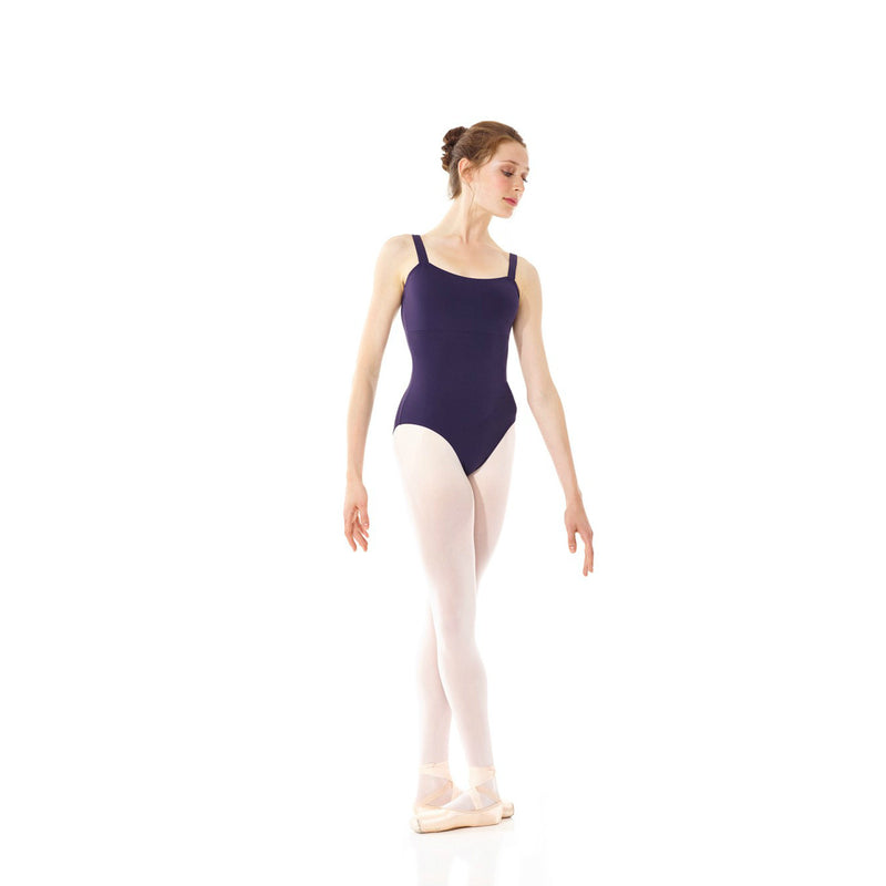 Mondor Adult Ink Blue Empire Waist Leotard