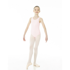 Mondor Essentials True Pink Tank Leotard
