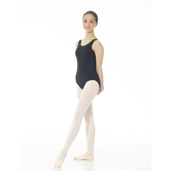 Mondor Essentials Black Tank Leotard