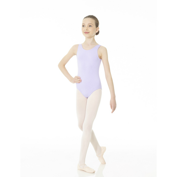 Mondor Essentials Lilac Tank Leotard