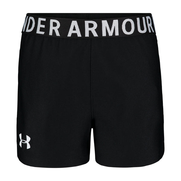 Under Armour Kids Black Play Up Short