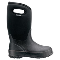 BOGS Classic Black Boots with Handles