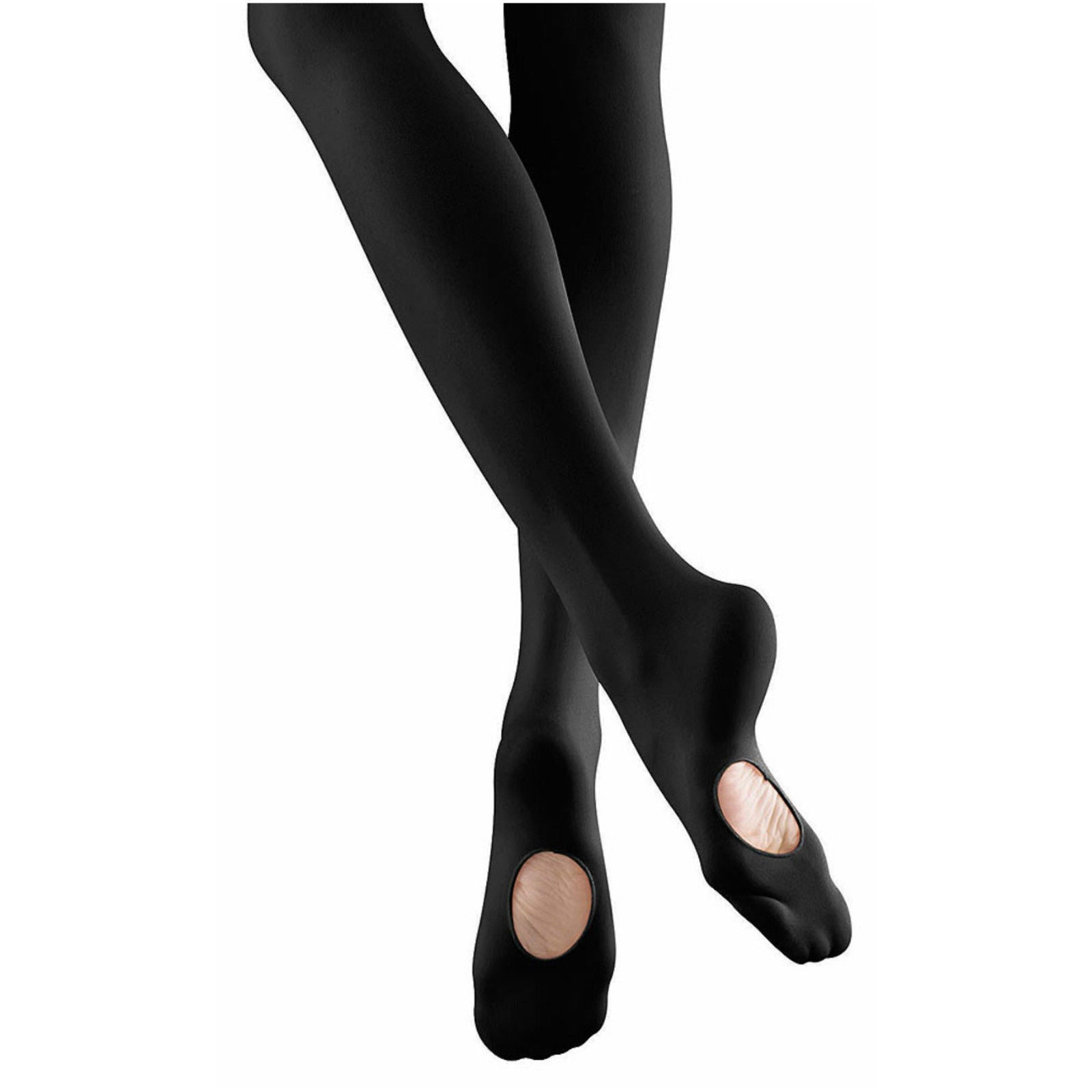 Mondor Black Durable Convertible Tights