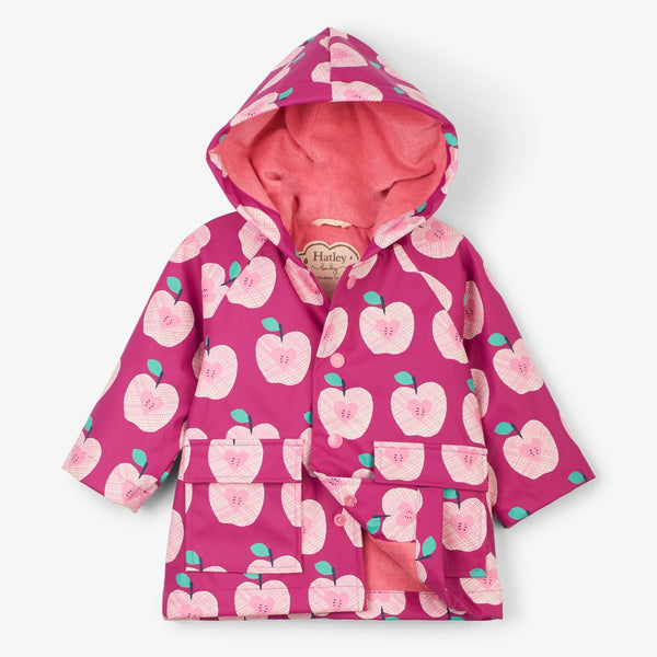 Hatley Apple Orchard Baby Raincoat