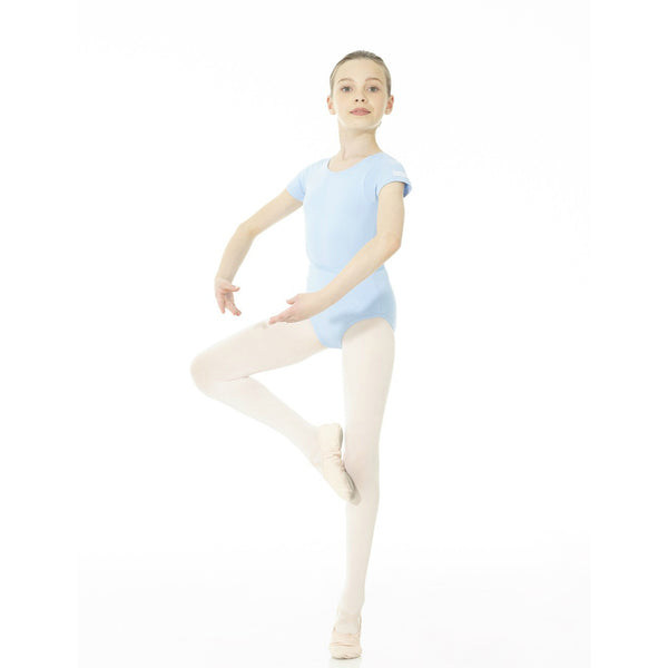 Mondor Academy Blue Short-Sleeved Leotard