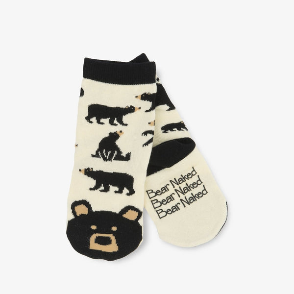 Little Blue House Black Bear Crew Socks