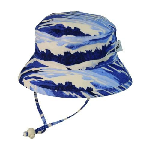 Puffin Gear Blue Surf Cotton Camp Hat