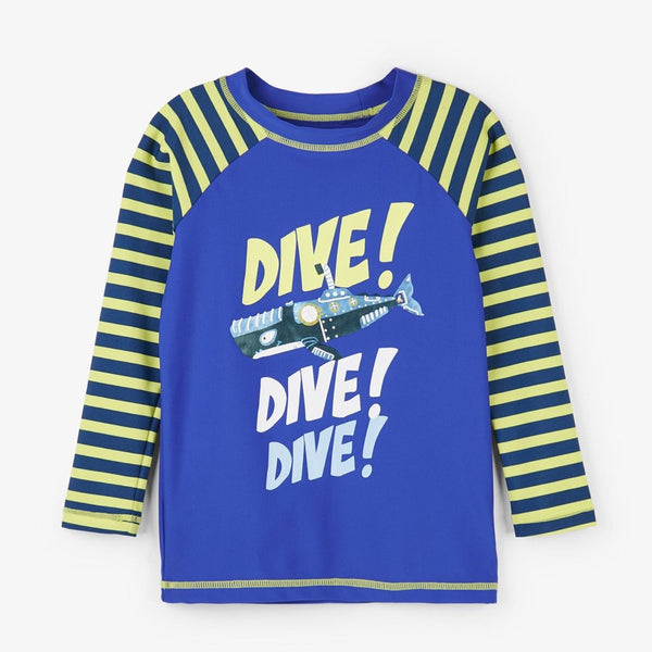 Hatley Animal Subs Long Sleeve Rashguard