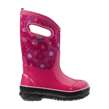 BOGS Magenta Classic Watercolour Boots
