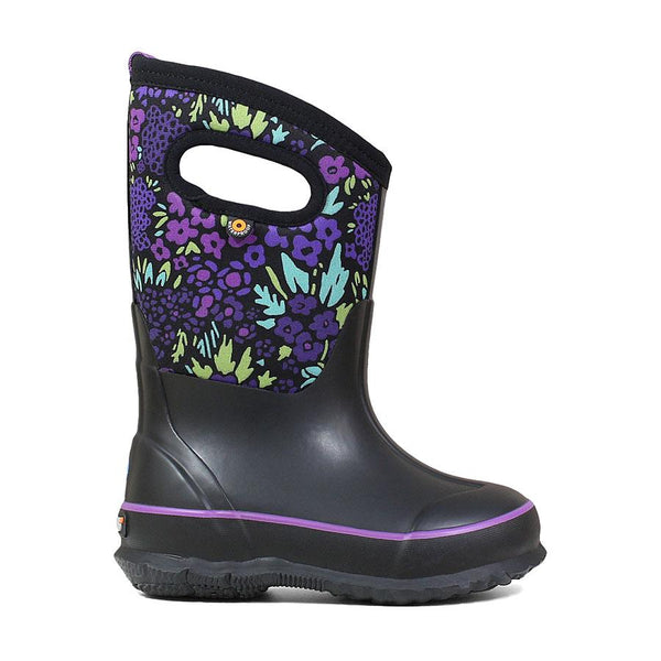 BOGS Black Multi Classic NW Garden Boots