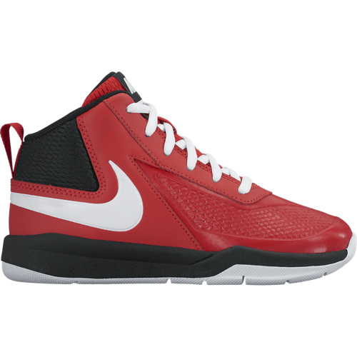 Nike Red Team Hustle Basketball Shoe
