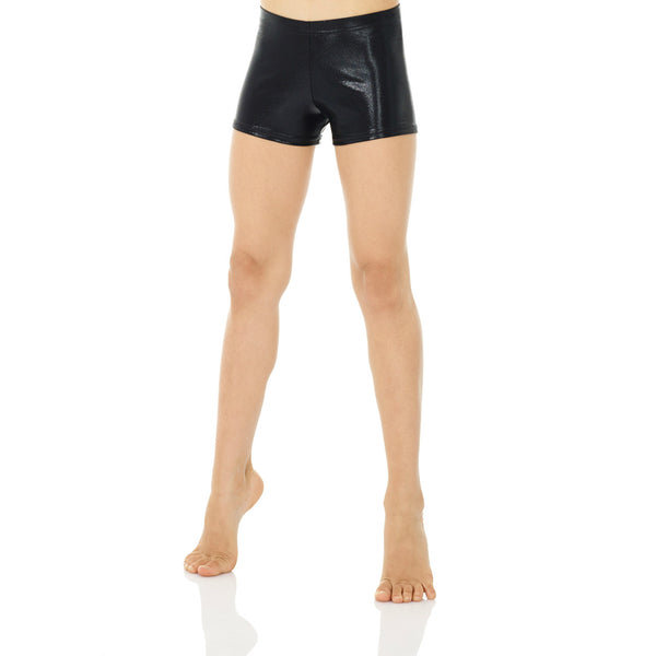 Mondor Adult True Black Metallic Shorts
