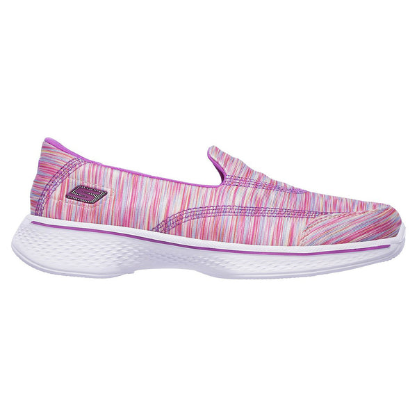 Skechers Pink Multi GOwalk Slip-On