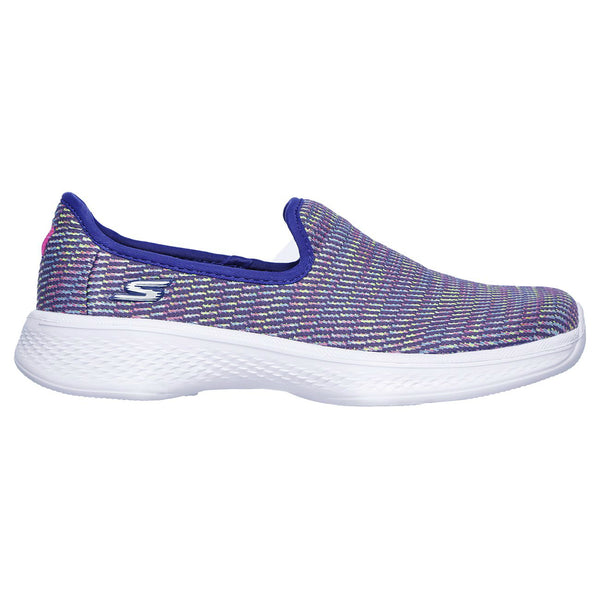 Skechers Blue Multi Go Walk 4 Select Slip-On