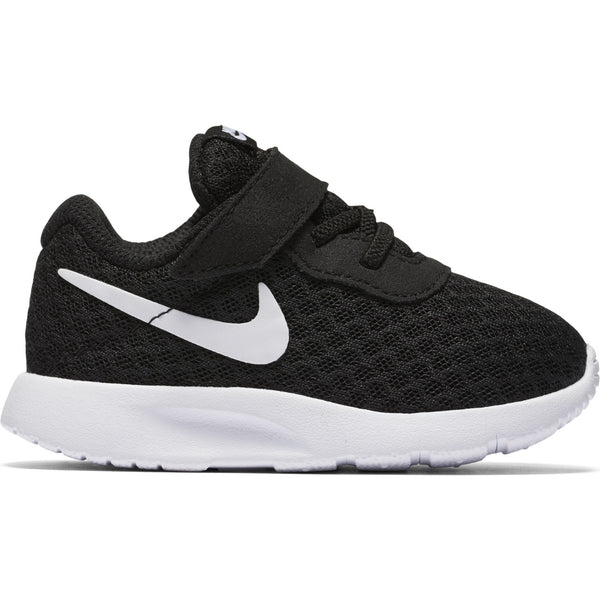 Nike Black/White Tanjun Toddler Sneaker
