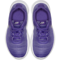 Nike Psychic Purple/Metallic Silver/White Tanjun Little Kid Sneaker