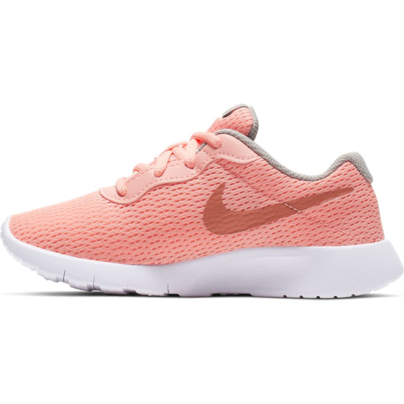 Nike Pink Tint/Metallic Rose Gold/Atmosphere Grey Tanjun Children's Sneaker