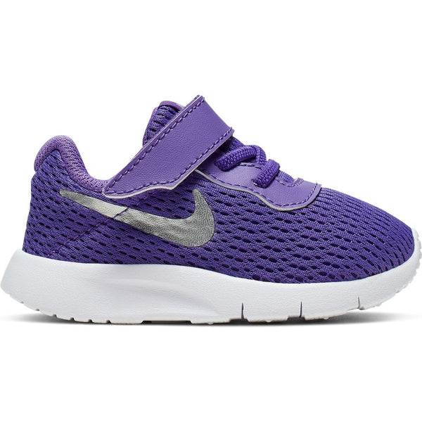 Nike Psychic Purple/Metallic Silver/White Tanjun Baby/Toddler Sneaker
