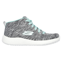 Skechers Grey/Aqua Burst Sneaker