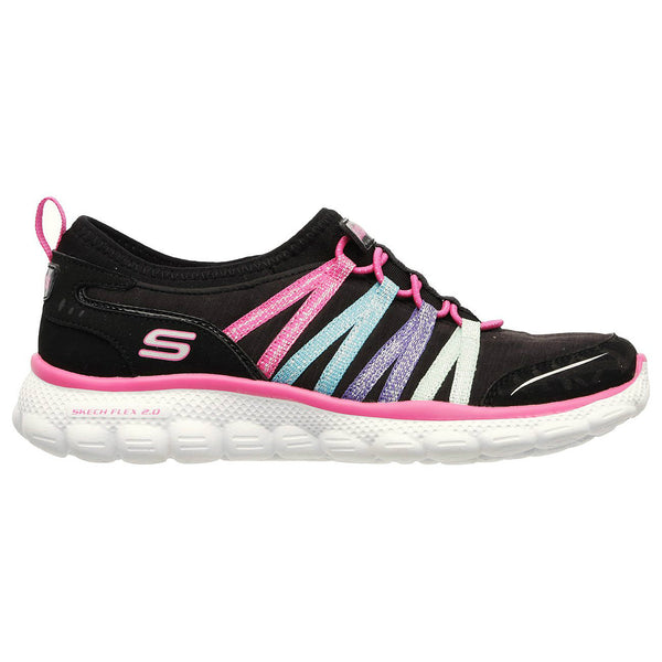 Skechers Black Multi Skech Flex Sneaker