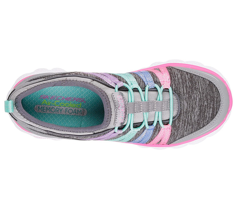 Skechers Gray/Mint Skech Flex Sneaker