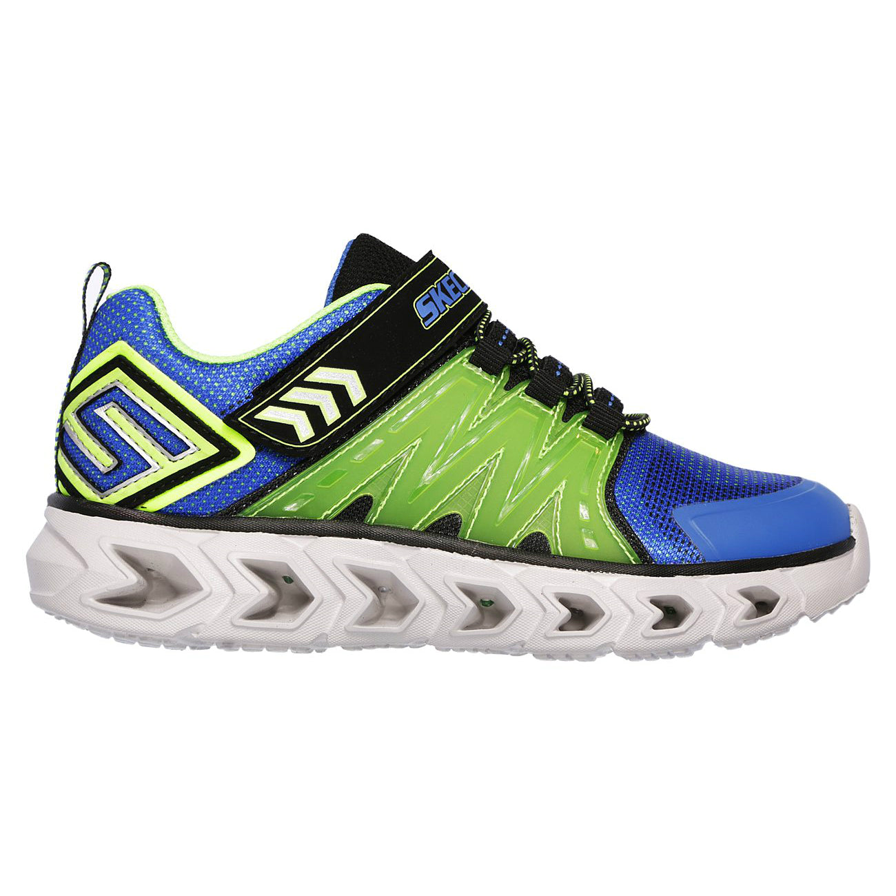Skechers Blue/Lime Hypno-Flash 2.0 Sneaker