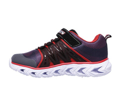 Skechers Charcoal/Red Hypno-Flash 2.0 Sneaker