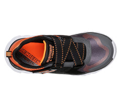Skechers Charcoal/Orange Hypno Flash Sneaker