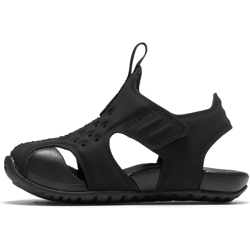 Nike Black/White Sunray Protect Baby/Toddler Sandal